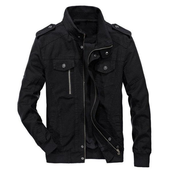 The Maverick Jacket Black