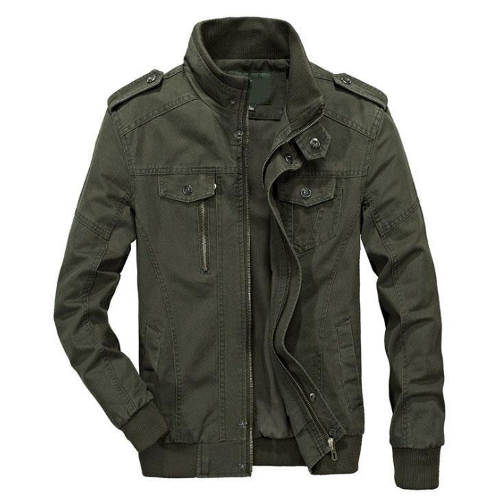 The Maverick Jacket Forest Green