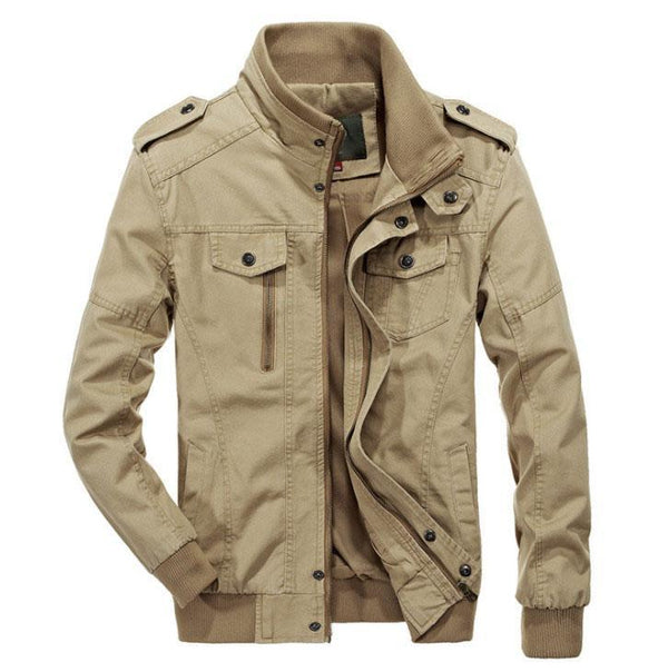 The Maverick Jacket Desert Tan