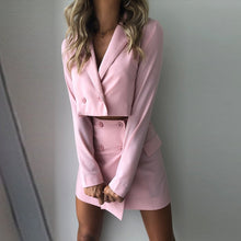 Load image into Gallery viewer, Pink 2-piece suit