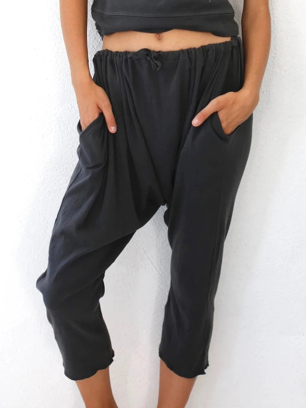Women's  Casual Cotton Shift Casual Pants