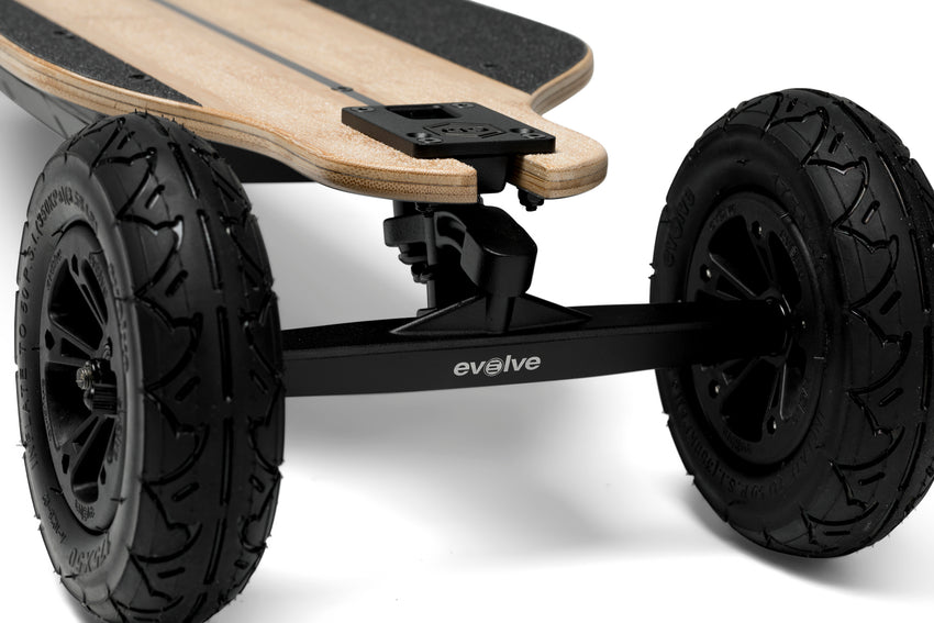 Evolve Bamboo GTR Delante | Scooter/Patinete eléctrico Chile