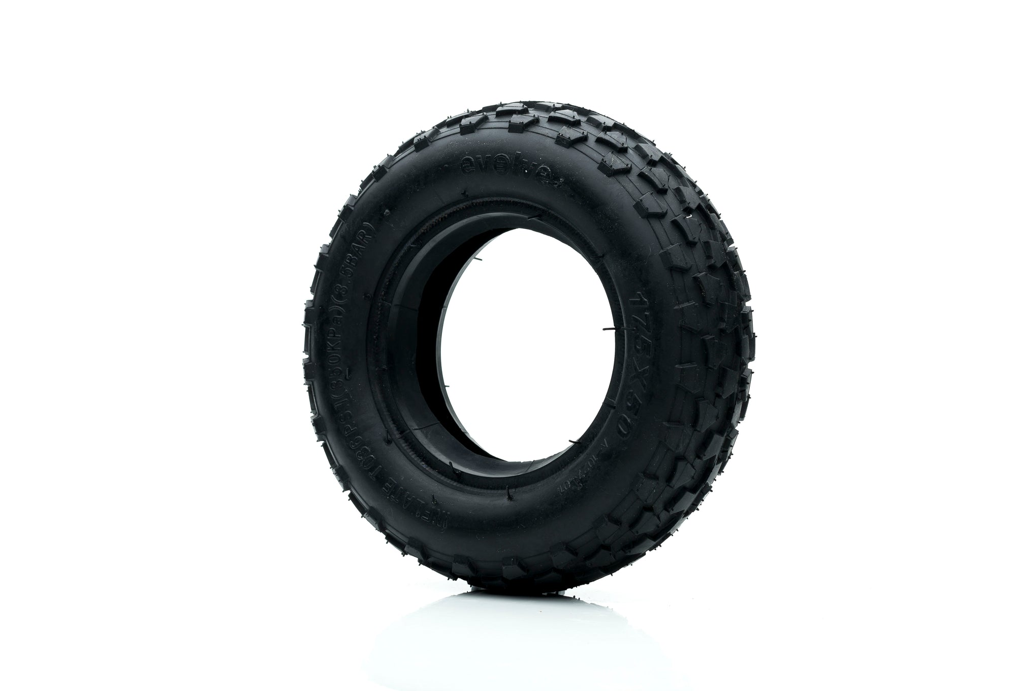 "Set Ruedas Off Road 7"" (Con Calugas) NEGRAS"