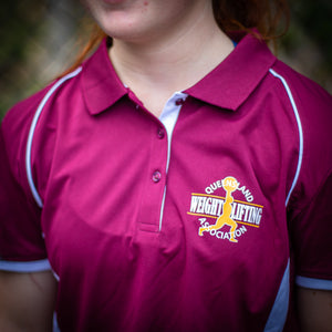 Queensland Weightlifting Polo Shirt