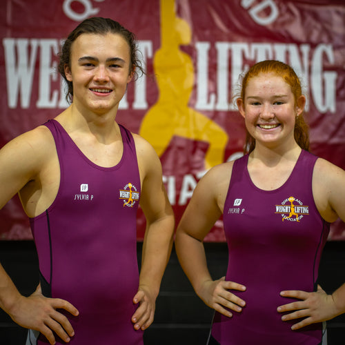 Queensland Weightlifting Representative Team Lifting Suit