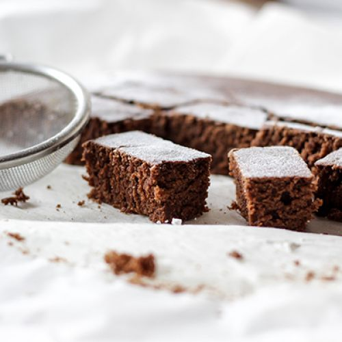 Whole Wheat Cocoa Brownies