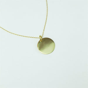 Collar Full Moon Gold