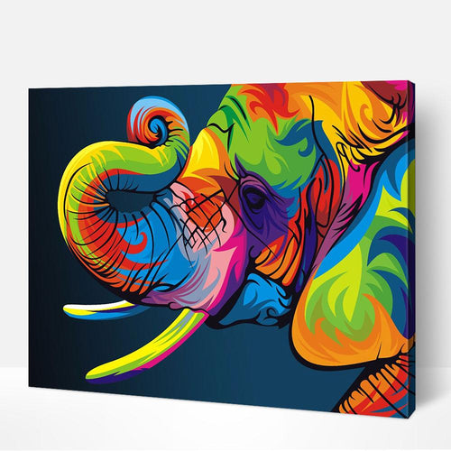 Elephant Coloré