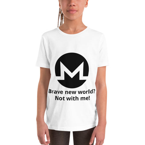 Brave New World? Not with me! T-shirt for Kids