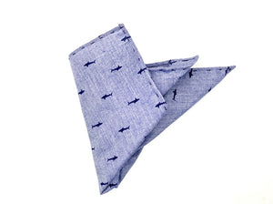 """Oceanic"" Pocket Square"