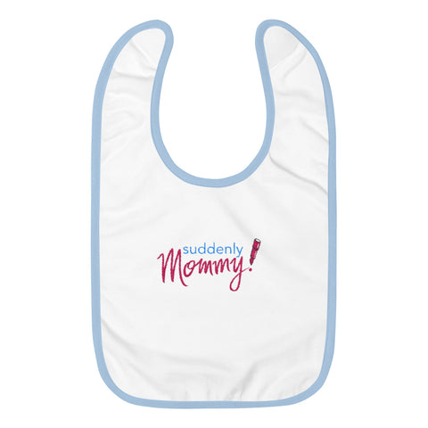 Suddenly Mommy Rabbit Skins 1004 Embroidered Baby Bib