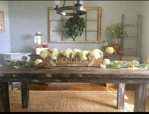 1/18/2020 - (Saturday) - 2:00pm - CENTERPIECE BOX and WOOD PLANK Workshop