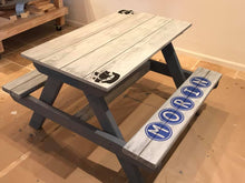 "Load image into Gallery viewer, Personalized CHILDREN'S ACTIVITY TABLE - ""HAMMER-IT-AT-HOME Kit""- Downtown Kirkland"