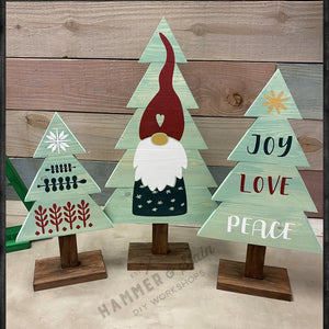"D-I-Y  ""HOLIDAY TREE SET"" - Includes Everything You Need!  (No Experience Necessary)"
