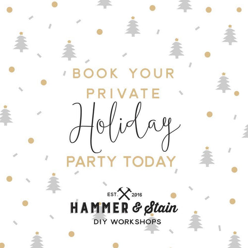 BOOK YOUR PRIVATE HOLIDAY PARTY