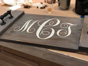 Copy of 9/8/2018 (2:00pm) Plank Wood Sign and Wood Tray Workshop ($45-$65)