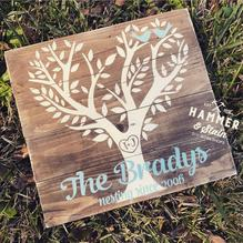 9/8/2018 (Saturday) Plank Wood Sign Workshop (6:00pm) ($35-$45)