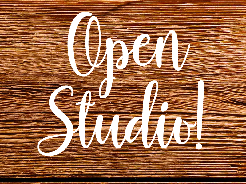 9/12/2018  (Wednesday)  Open Studio (10:00am-2:00pm)