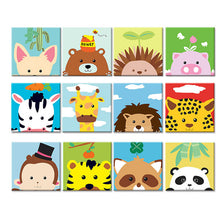 Load image into Gallery viewer, Cartoon Kids Collection - Pre-Stretched - 28 Different Designs