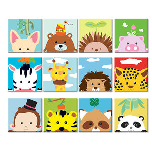 Cartoon Kids Collection - Pre-Stretched - 28 Different Designs