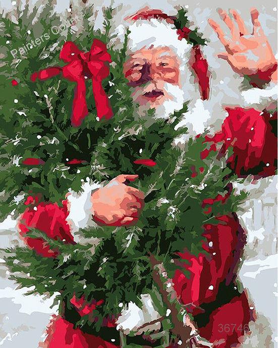 Santa Claus Waving