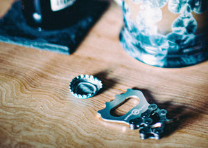 Bottle Opener Key Chain - Edgecomb Potters