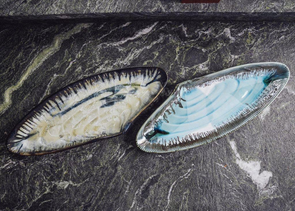 Mussel Shell Platter-Artist's Proof-Edgecomb Potters