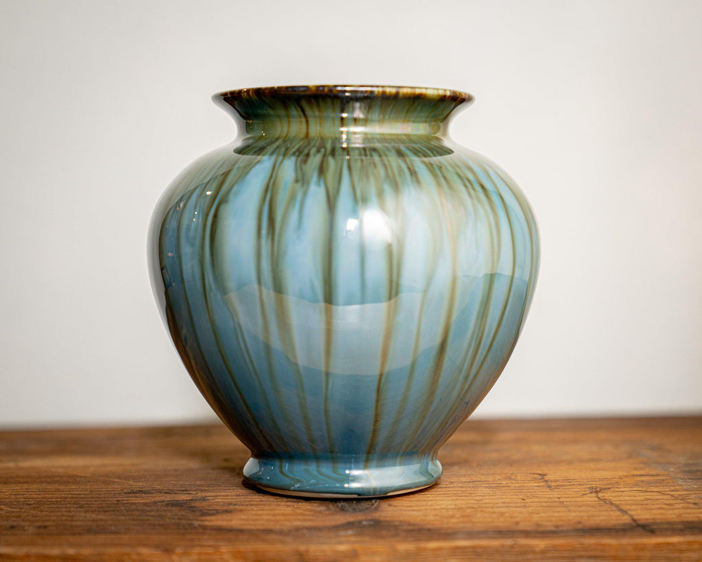 Ginger Jar Vase-Amber-Edgecomb Potters