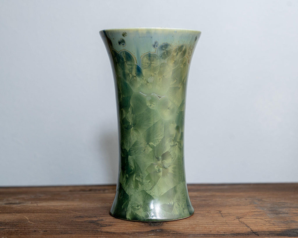 Bouquet Vase-Honey Green-Edgecomb Potters