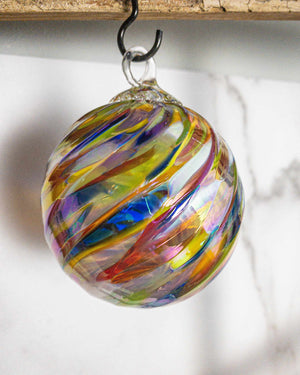 Circus Twist Ornament - Edgecomb Potters