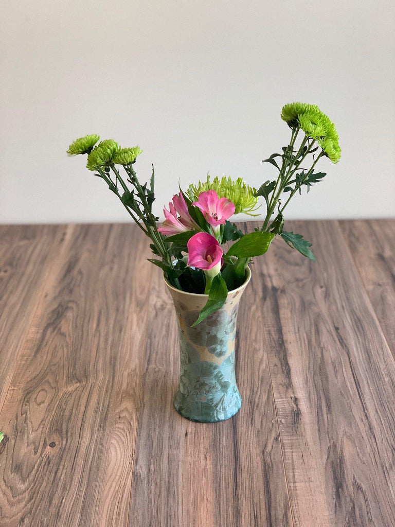 Bouquet Vase-Saltmeadow-Edgecomb Potters (4047343779912)