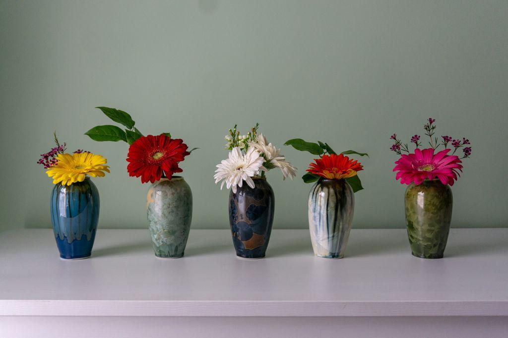 Wildflower Vase-Artist's Proof-Edgecomb Potters (4047346892872)