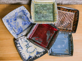 Deco Square-Bahama Blue-Edgecomb Potters