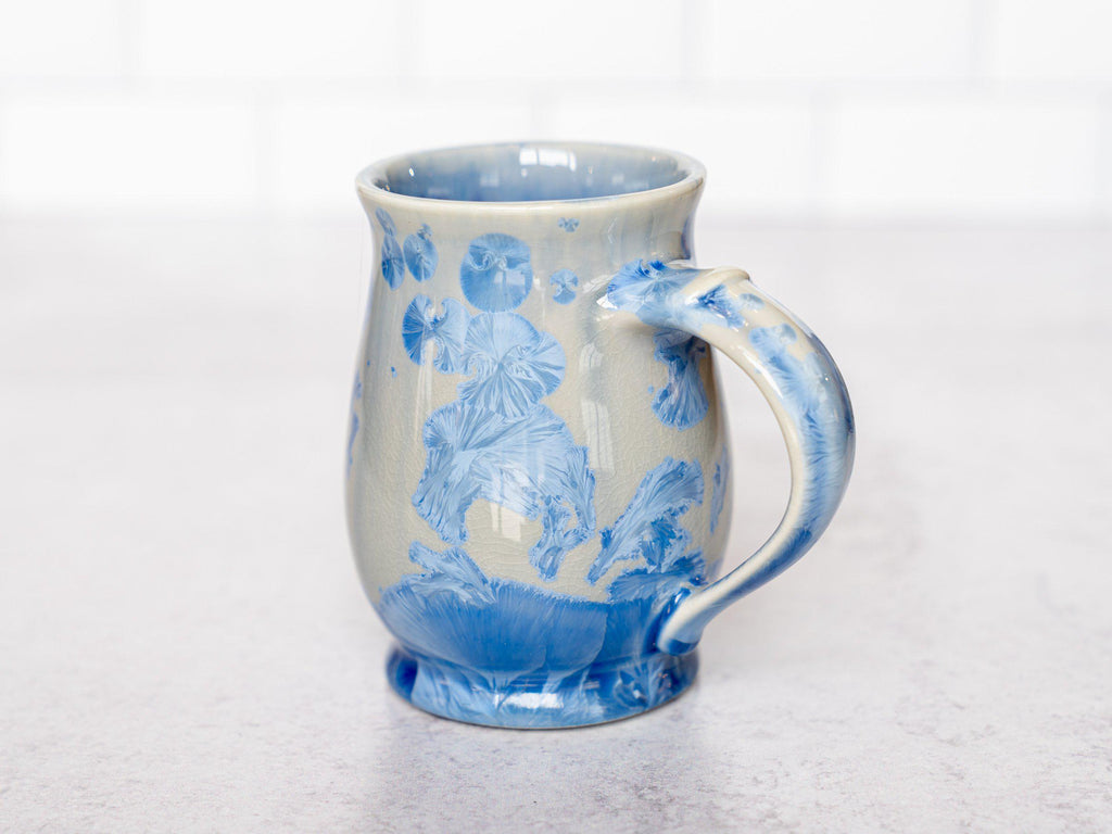 English Tea, ~12 oz-Bahama Blue-Edgecomb Potters (4127623250060)