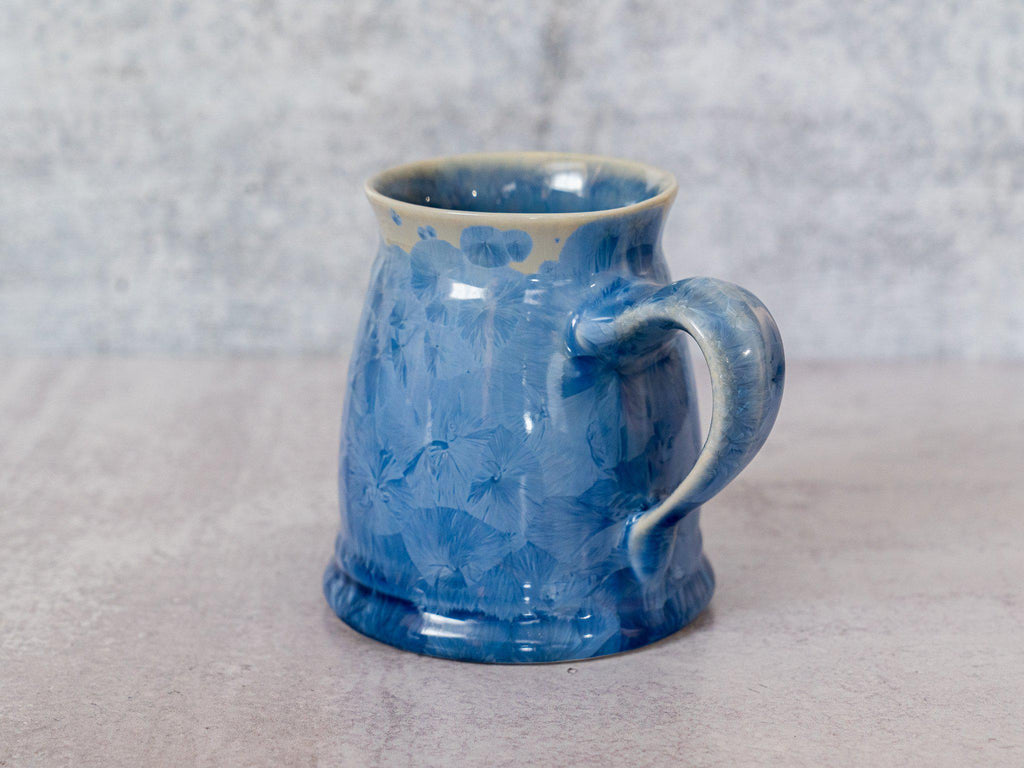 Stein, ~18 oz-Bahama Blue-Edgecomb Potters (4127876907148)