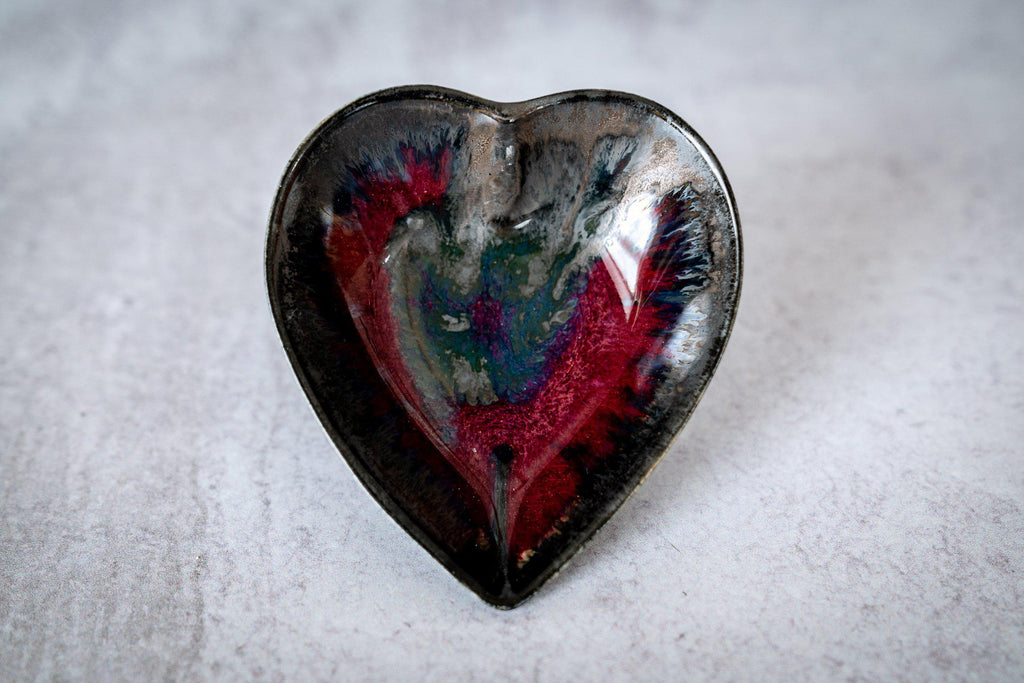 Hearts for Gosia-Red with Metal-Edgecomb Potters (4127872450700)