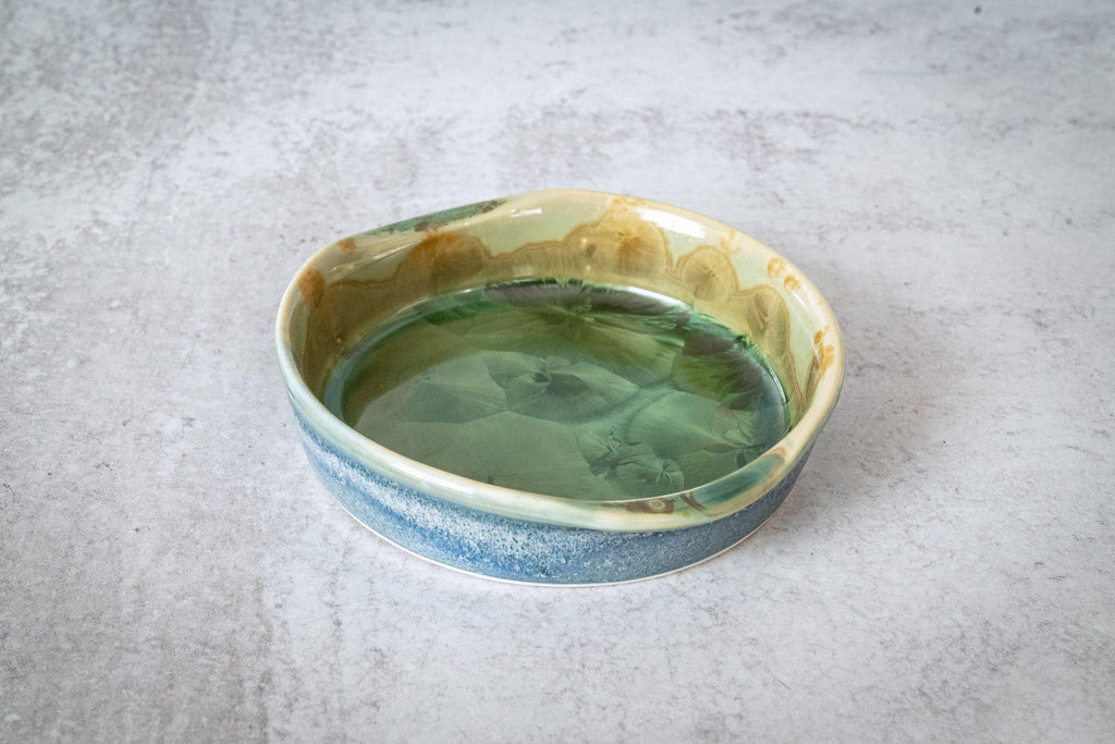 World Coaster-Honey Green-Edgecomb Potters (4127598706828)