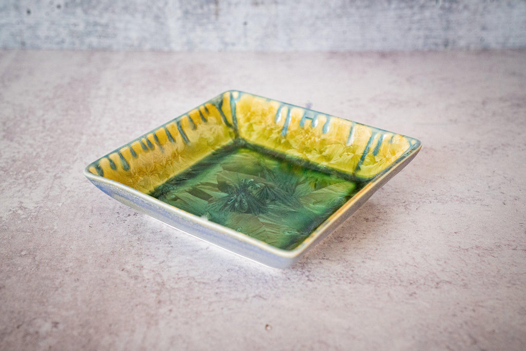 Little Square-Honey Green-Edgecomb Potters