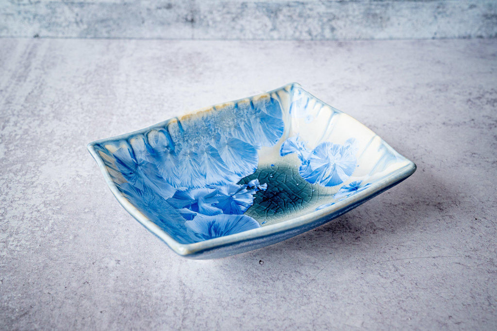 Rectangular Bowl, small-Bahama Blue-Edgecomb Potters (4127876317324)