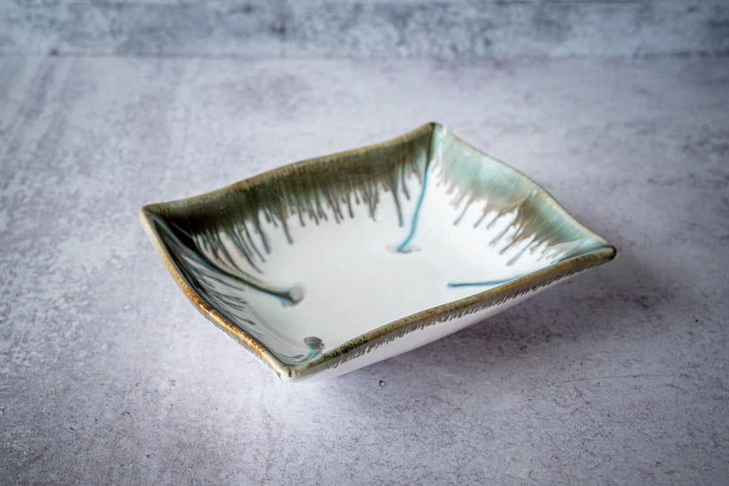 Rectangular Bowl, small-Seabreeze-Edgecomb Potters (4127876317324)