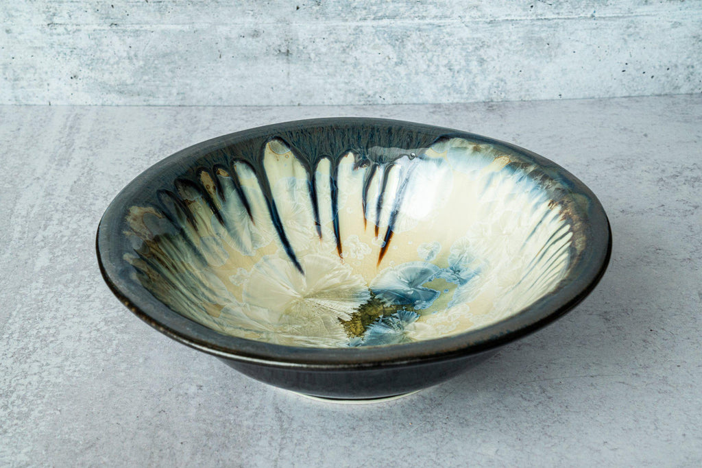 Serving Bowl-Winter Storm-Edgecomb Potters (4127875465356)