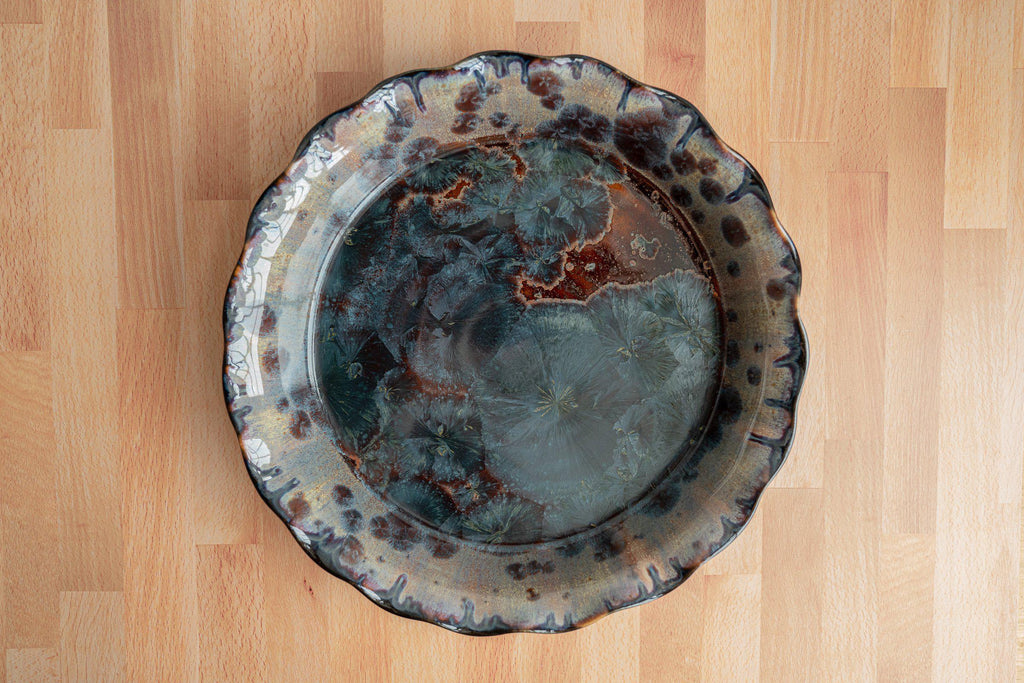 Deep Dish Pie Plate-Tide Pool-Edgecomb Potters (4127614435468)