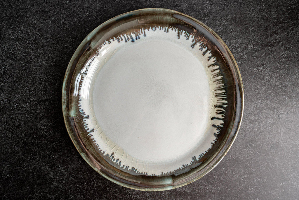 Thrown Dinner Plate-Seabreeze-Edgecomb Potters (4047345909832)