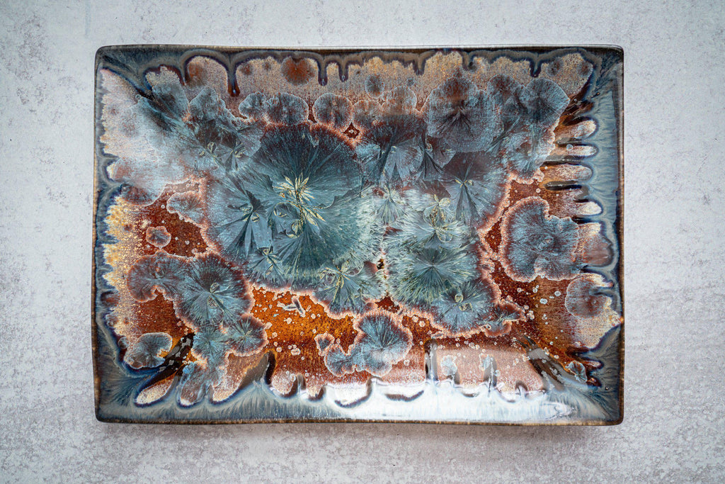 Rectangular Plate-Tide Pool-Edgecomb Potters