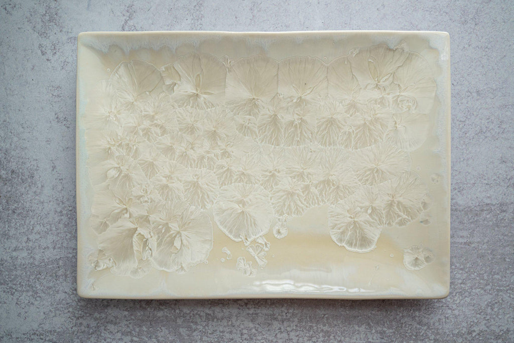 Rectangular Plate-Mother of Pearl-Edgecomb Potters (4127874908300)