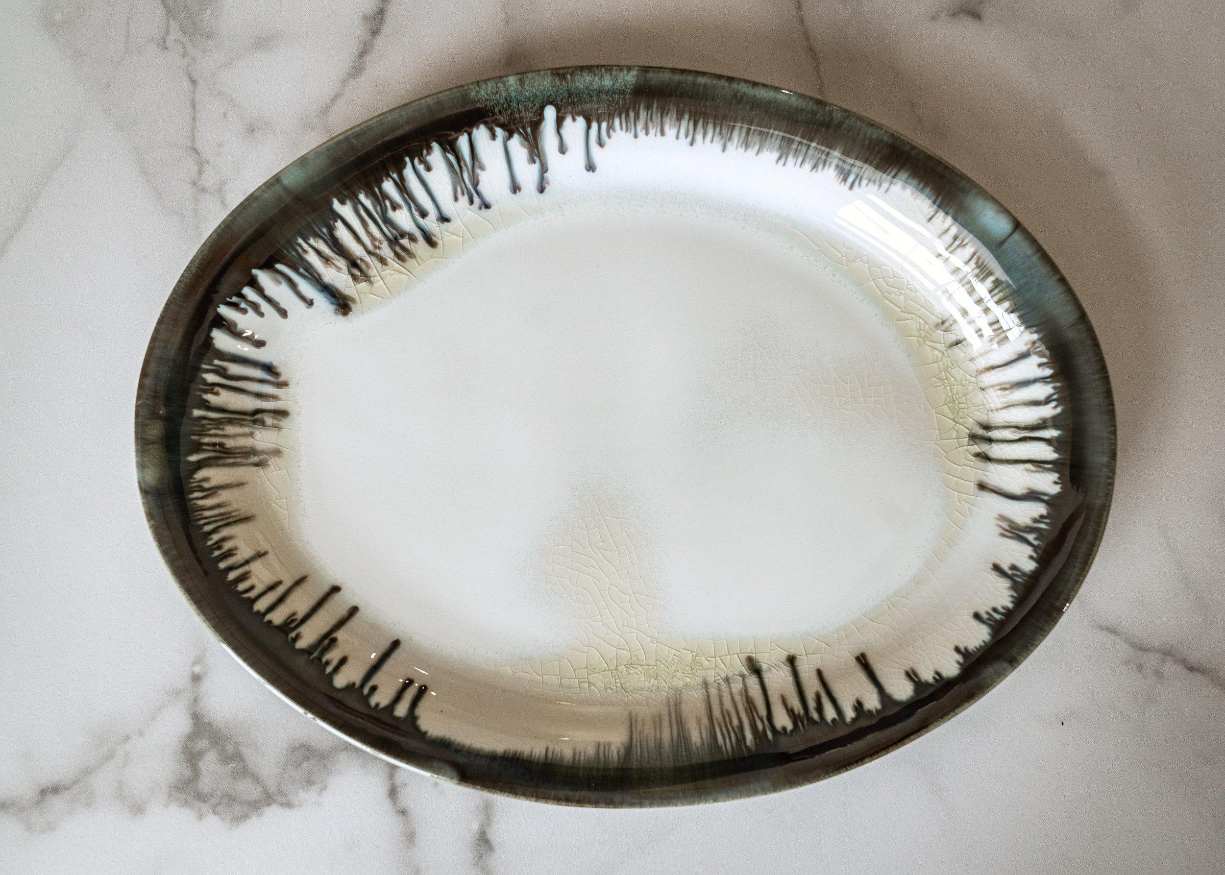 Oval Platter - Edgecomb Potters