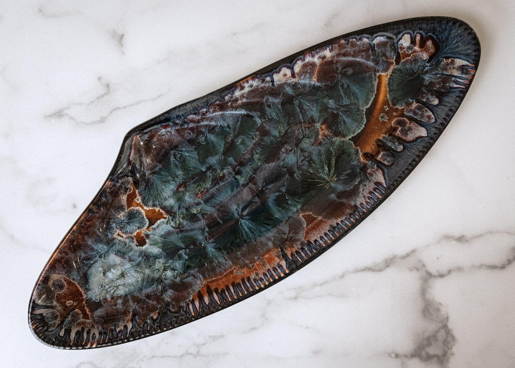 Mussel Shell Platter-Tide Pool-Edgecomb Potters (4047345221704)
