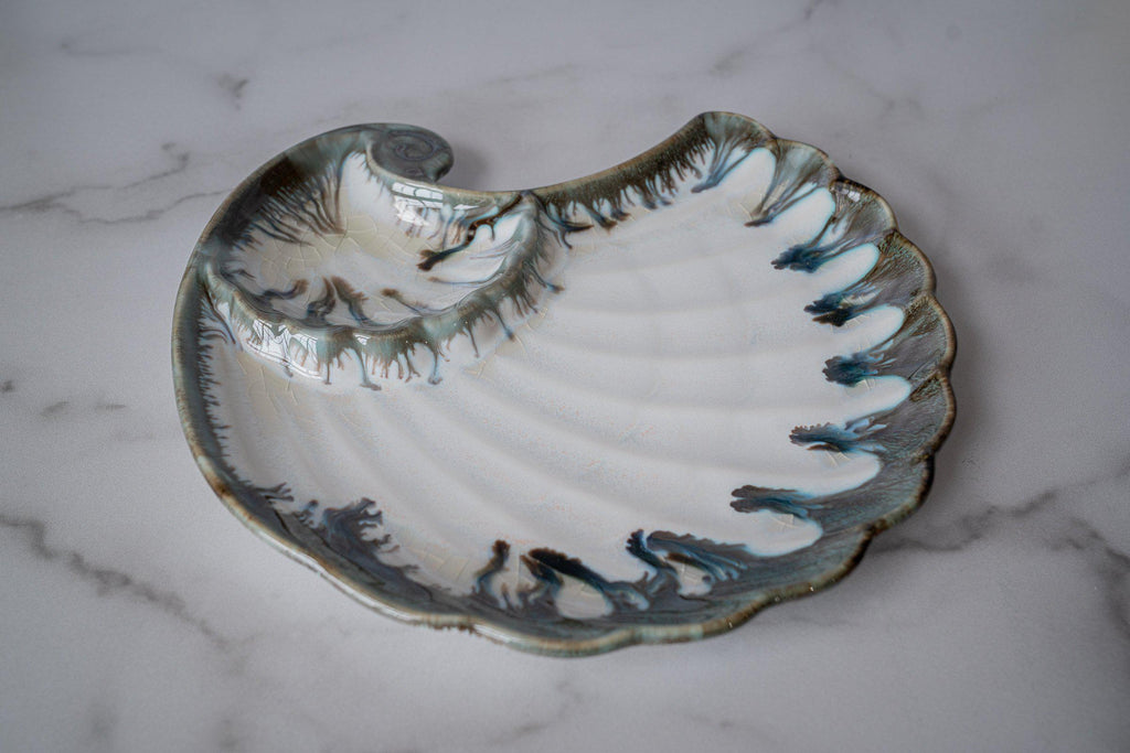 Appetizer Shell-Seabreeze-Edgecomb Potters (4127875563660)