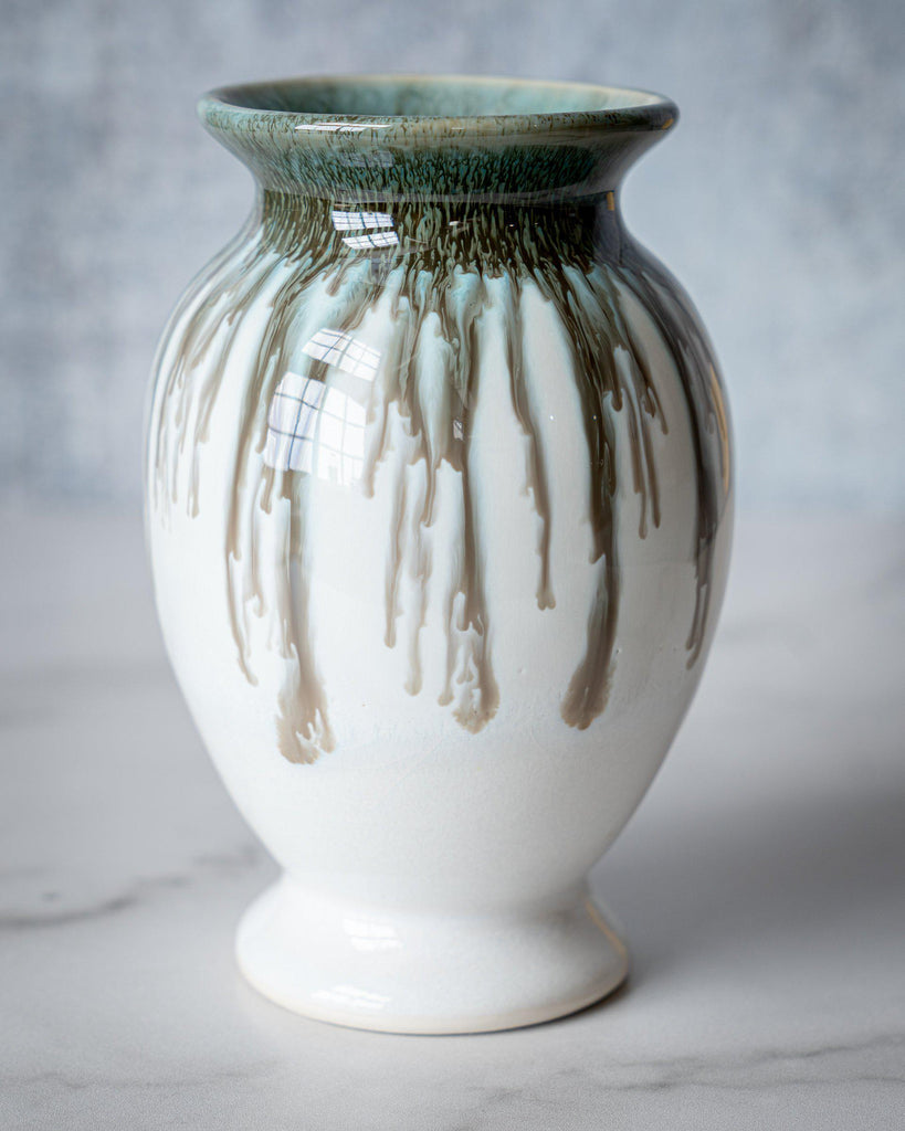 Lady Vase, small-Seabreezes-Edgecomb Potters (4047345090632)