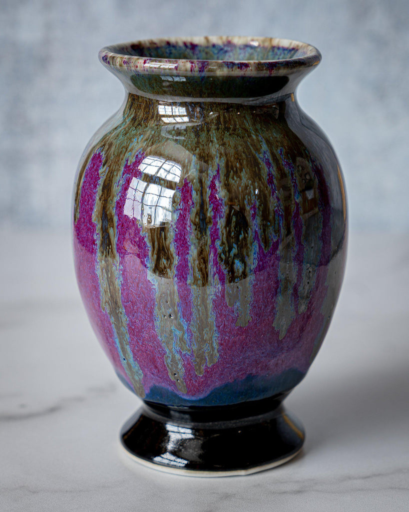 Lady Vase, small-ROSE-Edgecomb Potters (4047345090632)